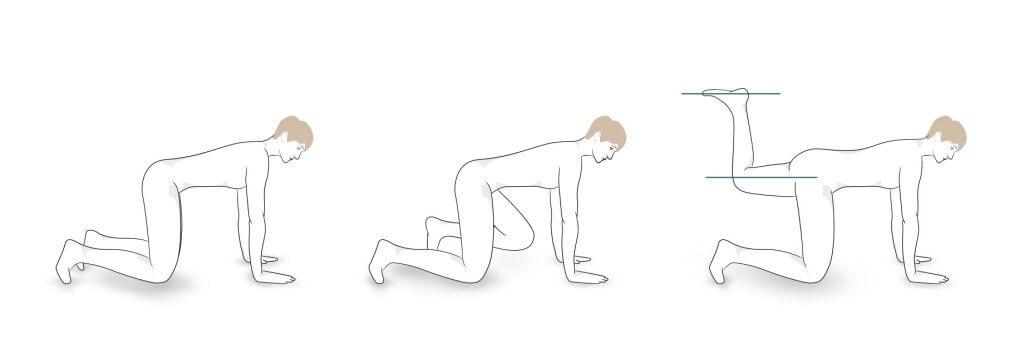 Übung 1: Oberschenkel-Heber