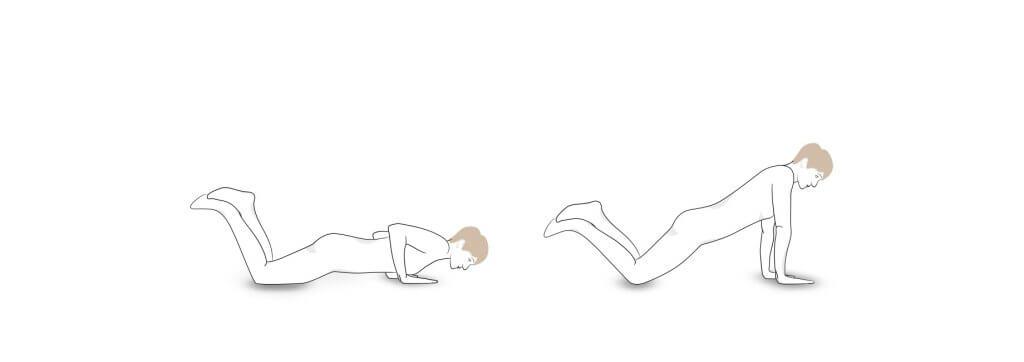 Übung 3: Leichte Push-ups