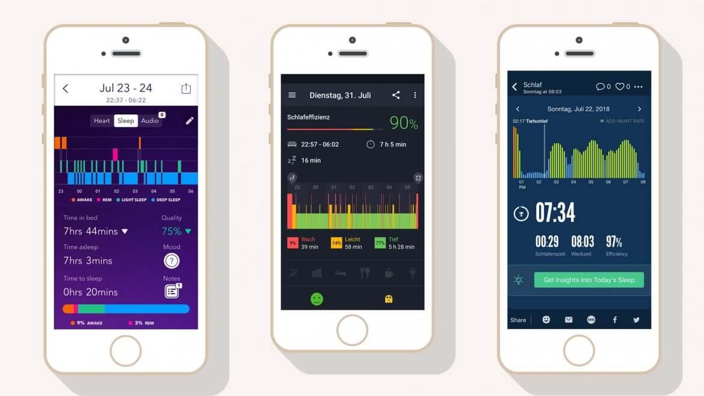 Schlaf Apps im Vergleich