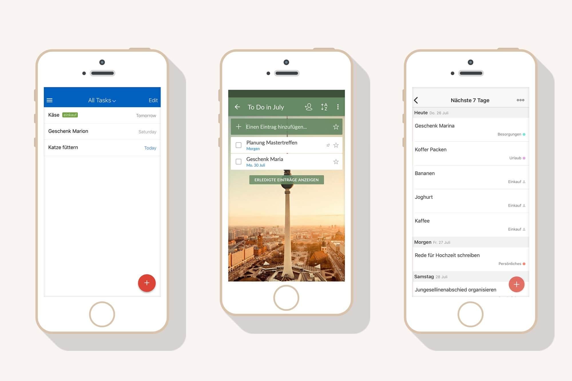 Struktur im Alltag & ein freier Kopf 21 Apps für To do Listen im Test