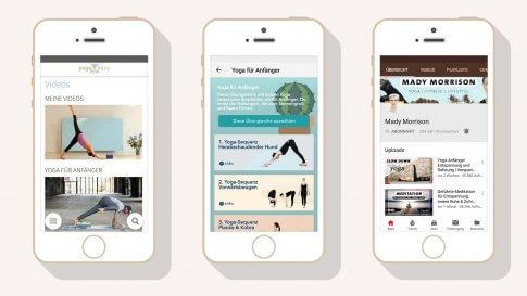 Yoga online - 3 Anwendungen im Test