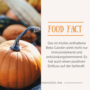 Kürbis Food Fact