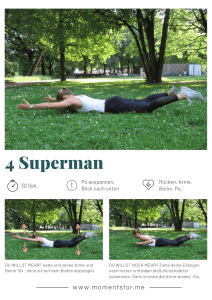 Home Workout: Superman Übung