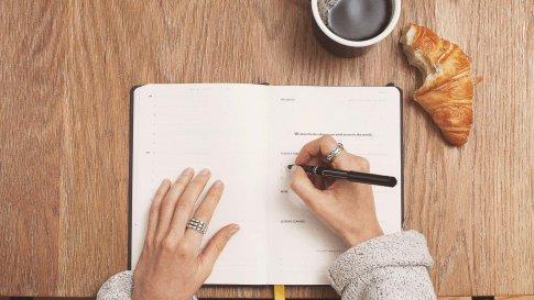 Tagebuch schreiben
